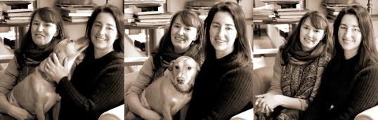 Rebecca Rockefeller, Liesl Clark & Sailor